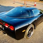 Chevrolet corvette enhancement detail